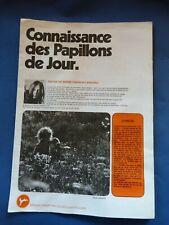 Album complet du chocolat Poulain : CONNAISSANCE DES PAPILLONS DE JOUR