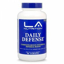 Daily Defense Multivitamin Multimineral Fruits and Vegtables GMO Free S/H SAVE!
