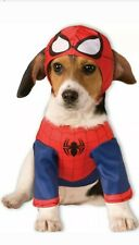 Brand New Superhero Spider-Man Pet Dog Costume XL