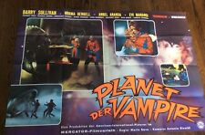 PLANET OF THE VAMPIRES Original German AO  Movie Poster 1967 Rare 33 x 47