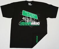 STREETWISE CITY LIMITS T-shirt Urban Streetwear Tee Men L-4XL Black NWT