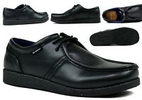 MENS BLACK FORMAL OFFICE WALKING LACE UP MENS SHOES UK SIZES 6-12