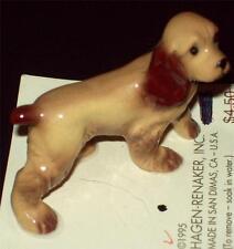 "HAGEN-RENAKER DOG PORCELAIN SPANIEL ""PAPA COCKER"" #00028 San Dimas,CA-USA NWT"
