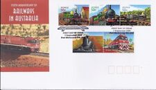 2004 Australia - 150th Anniversay of Australian Railways Fdi Fdc