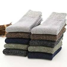 Mens Thick Cotton Wool Blend Work Hiking Boot Socks Winter Warm Thermal New