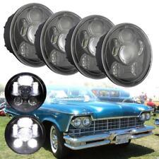"""4pcs 5.75"""" Round LED Headlights Lights For Chrysler imperial Chevrolet Chevelle"""