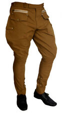 Designer Jodhpurs Polo Pants Mens Equestrian Horse Riding Baggy Breeches