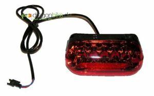 LED Rücklicht Fahrrad Beleuchtung Leuchte 24V 36V 48V E-Bike Pedelec