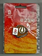 Softball Olympic Pin Badge~2008~Beijing~Games Mark~Equipment Series~New Old...