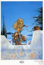 ATALANTE WARRIOR signed  CRISSE  Artprint/Druck/Ex Libris/Affiche 21 x 30 +sexy+