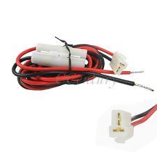 DC Power Cable Cord for Mobile Radio ICOM Kenwood TM-241 YAESU FT-7800R T Shape