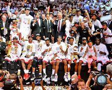 2013 MIAMI HEAT Champs TEAM LeBron James-Dwyane Wade-Ray Allen-Bosh++ 8x10 photo