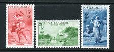 1957 Algeria SC B91-B93 Semi-Postals Set of 3, Famous Paintings - MNH**