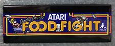Food Fight Arcade Game Marquee Fridge Magnet