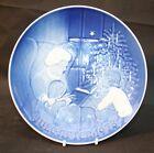 "Royal Copenhagen Denmark Display Plate or Dish  ""Jule after 1978"" 18cm diameter."