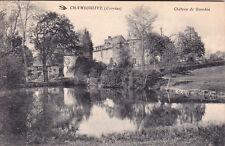CHAMBOULIVE château de gourdon écrite