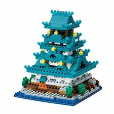 Nanoblock Nbh-173 Osaka Castle New from Japan #cv2