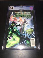 Green Lantern #20 CGC 9.2 $7.99 Newsstand Price Variant 1st Jessica Cruz New 52