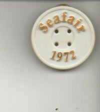 1972 Seattle Seafair pin, button, unlimited hydroplane
