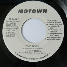 "Diana Ross 7"" 45 Record PROMO The Boss Motown M 1462F 1979 Soul"
