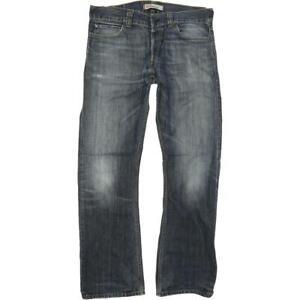 Levi's 512  Homme Bleu Bootcut Regular  Jeans W36 L34 (65690)