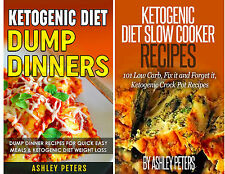 Ketogenic Diet Cookbook Bundle(2 books) Keto Slow Cooker Recipes & Dump Dinners