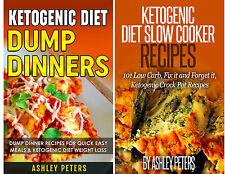 Ketogenic Diet Cookbook Bundle(2 books) Keto Slow Cooker Recipes & Dump Dinners