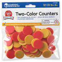 Learning Resources Two-Colour Counters 120 Pack NEW