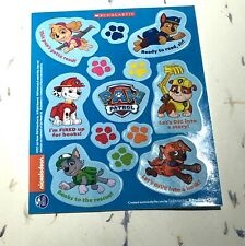 3 Paw Patrol Scholastic Sticker Sheets Cancelled Show