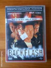 DVD BACKFLASH - EDICION DE ALQUILER - JENNIFER ESPOSITO - ROBERT PATRICK (F6)