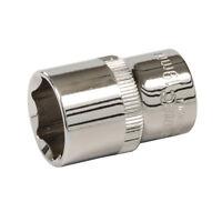 """Silverline 637442 Socket 1/2"""" Drive 6 Point Metric 19mm"""