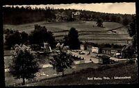 Bad Berka Thüringen Weimarer Land AK 1962 DDR Schwimmbad Freibad ungelaufen