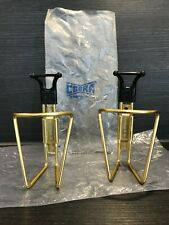 Cobra Italy NOS Flaschen Halter Original Gold Oro Colnago Masi Bike Vintage