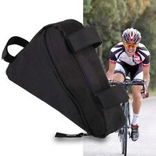2016 Cycling Bike Bicycle Frame Front Tube Triangle Bag Quick Release Black SM