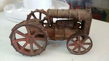 Vintage Hubley or Arcade or? Cast Iron Farm Tractor Old.