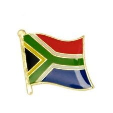 SOUTH AFRICA FLAG ENAMEL PIN BADGE CRICKET RUGBY BRAND NEW FREE POST