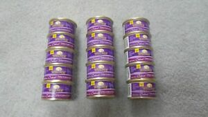 (15) Cans Of Wellness Cubed Turkey & Salmon Entree Morsels in Gravy 3 Oz Each