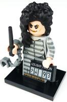 HARRY POTTER #34F Lego Bellatrix Lestrange w//wand Custom NEW Genuine Lego Parts