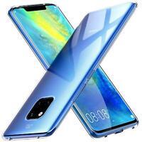 Transparent Cover für Huawei Mate 20 Pro Handy Hülle Silikon Case Schutz Tasche