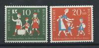 Allemagne - RFA N°129/30** (MNH) 1957 - Au profit des colonies de vacances