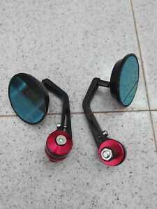coppia specchietti retrovisori moto guzzi v7 nuovi cafè racer scrambler