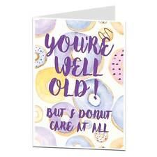 Funny Birthday Card Age Joke Perfect For 30th 40th 50th 60th 70th birthdays