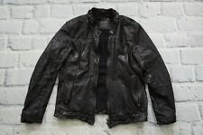 Spitalfields ALL SAINTS SCORCH LEATHER JACKET