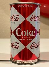Vintage Diamond  Coca Cola Can Hayward, CA. 1960's Opened from the bottom.