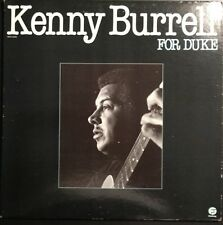 KENNY BURRELL LP - FOR DUKE - FANTASY 4506, 1980 Near MINT Condition