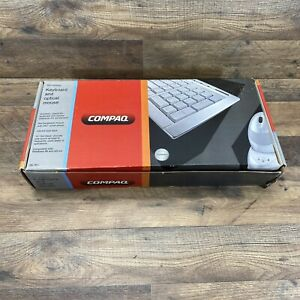 Compaq Slim Wireless 26-761 Multimedia Keyboard And Rechargeable Mouse Brand New