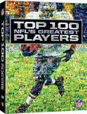 NFL: Top 100 - NFLs Greatest Players [2011, 4-Disc Set, DigiBook] Sealed DVD New