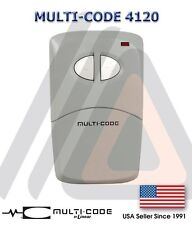 Linear Multi-Code 4120  Gate Garage 2-Button Remote MCS412001 300mhz 2 Year Warr