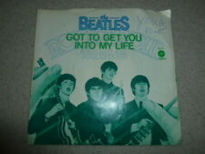 The Beatles 45 LP Got To Get You Into My Life Capitol 4274