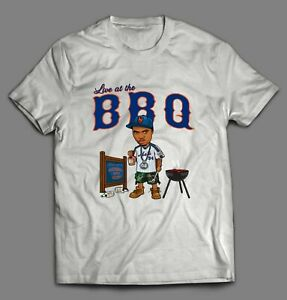 """NEW YORK RAPPER NAS """"LIVE AT THE BBQ"""" MEN'S HIGH QUALITY T-Shirt *MANY OPTIONS*"""